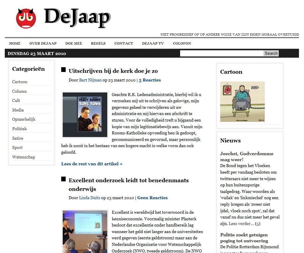 DeJaap 23 oktober 2010