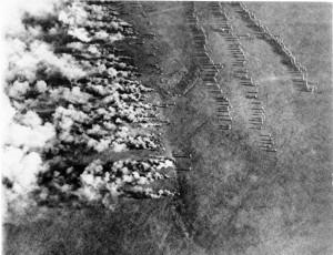 Gasaanval tijdens Eerste Wereldoorlog bron wikipedia