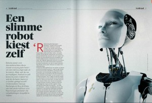 Slimme robot artificial intelligence