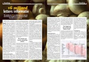 genoom ui en champignon sequensen DNA